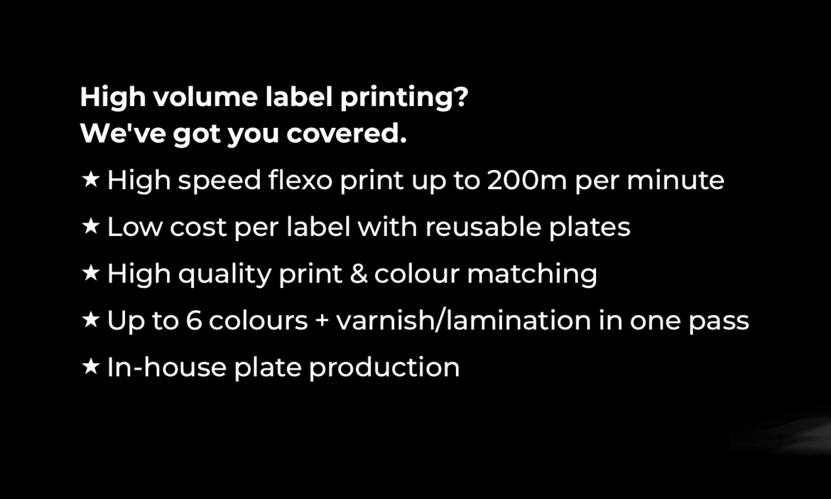 Full Colour Labels